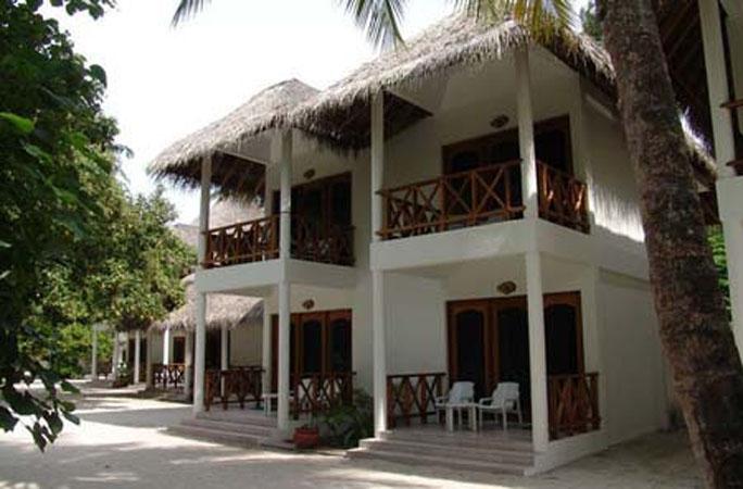 Fihalhohi island resort maldive for Piani di bungalow classici